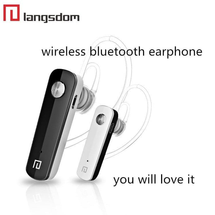 BLUETOOTH WIRELESS EARPHONES (LANGSDOM K2) - Jazba World - Headphones - Earbuds - Wirless - Bluetooth Headphones