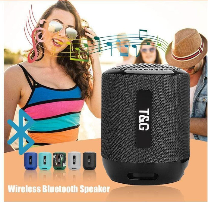 BLUETOOTH WIRELESS SPEAKER (TG129) - Jazba World - Headphones - Earbuds - Wirless - Bluetooth Headphones