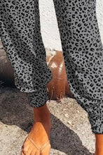 Load image into Gallery viewer, Leopard Elastic Joggers *RESTOCKED - 2 COLORS!*