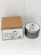 Load image into Gallery viewer, Cedar + Amber Candle 8 oz.