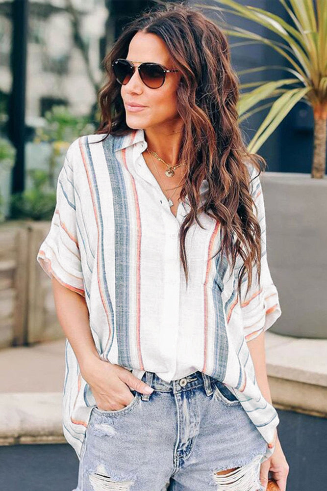 Silky Button-Up ***3 COLORS***