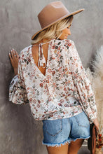 Load image into Gallery viewer, Chiffon Floral Blouse