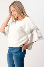 Load image into Gallery viewer, Smock-Sleeve Pullover