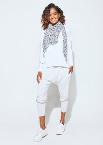 Stella Slouch Tee Sleeved - White
