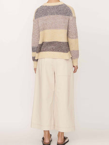 Exon Speckle Knit - Natural Multi