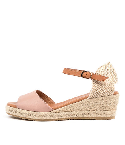 Suzy Sandal - Rose Lt Tan
