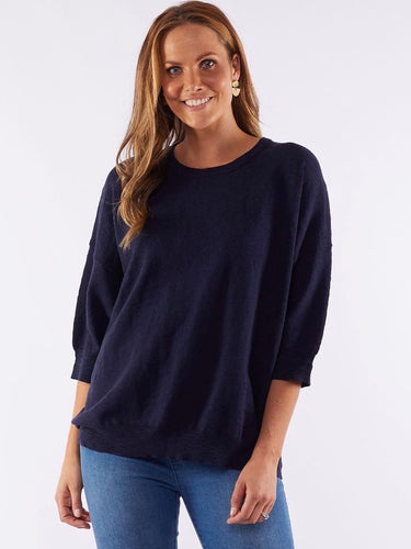 Elsie Knit - Navy