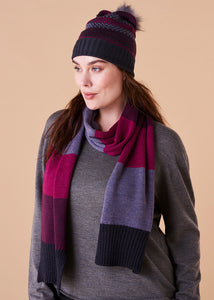 Piper Scarf - Mulberry