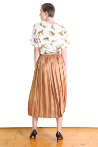 Lake Como Skirt - Caramel