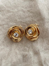 Load image into Gallery viewer, Gala Rose Luxe Earrings - Gold