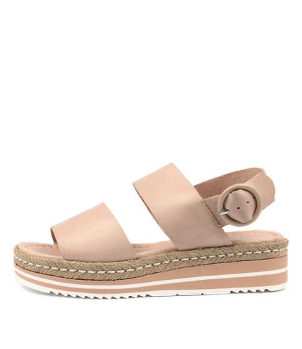 Atha Sandal - Nude Leather