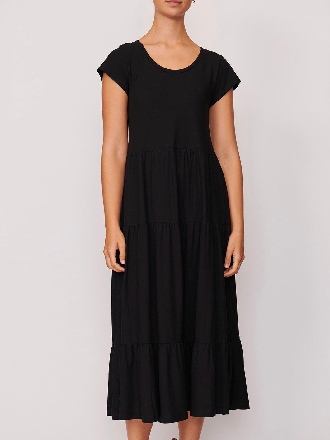 Process Layered Dress - Black