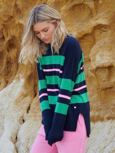 Rosalie Sweater - Mariner
