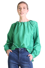 Load image into Gallery viewer, Da Vinci Blouse - Parakeet Green