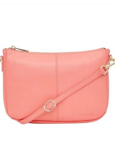 Small Bowery Shoulder Bag - Flamingo