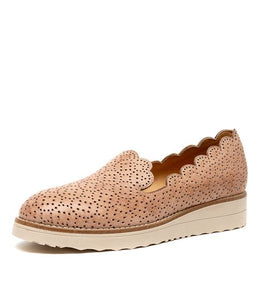 Ornel Shoes - Cafe Nude Leather