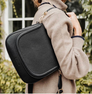 Ferrara Saddle Bag - Black