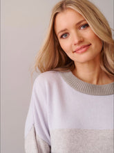 Load image into Gallery viewer, Soleil Splice Sweater - Grey