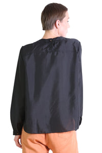 Da Vinci Blouse - Black