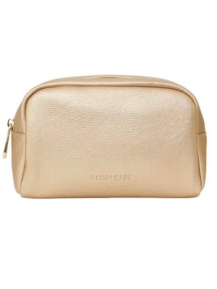 Small Cosmetics Bag - Light Gold