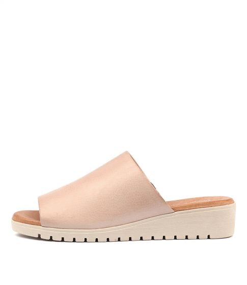 Merries - Dusty Pink with White Sole