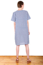 Load image into Gallery viewer, Suzi Gingham Dress - Blue