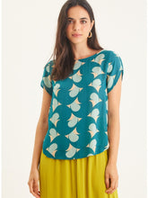 Load image into Gallery viewer, Matt Blouse - Paradise Green