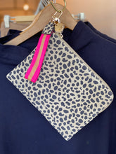 Load image into Gallery viewer, Paige Clutch w/Wristlet - Spot Suede