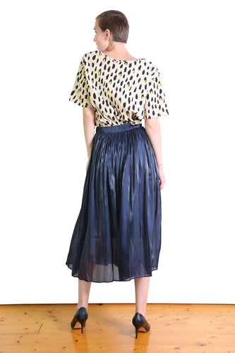 Lake Como Skirt - Navy