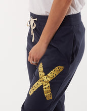 Load image into Gallery viewer, Criss Cross Pant - Navy