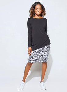 The Susie Top - Black