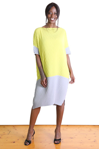 Departure Dress - Yellow