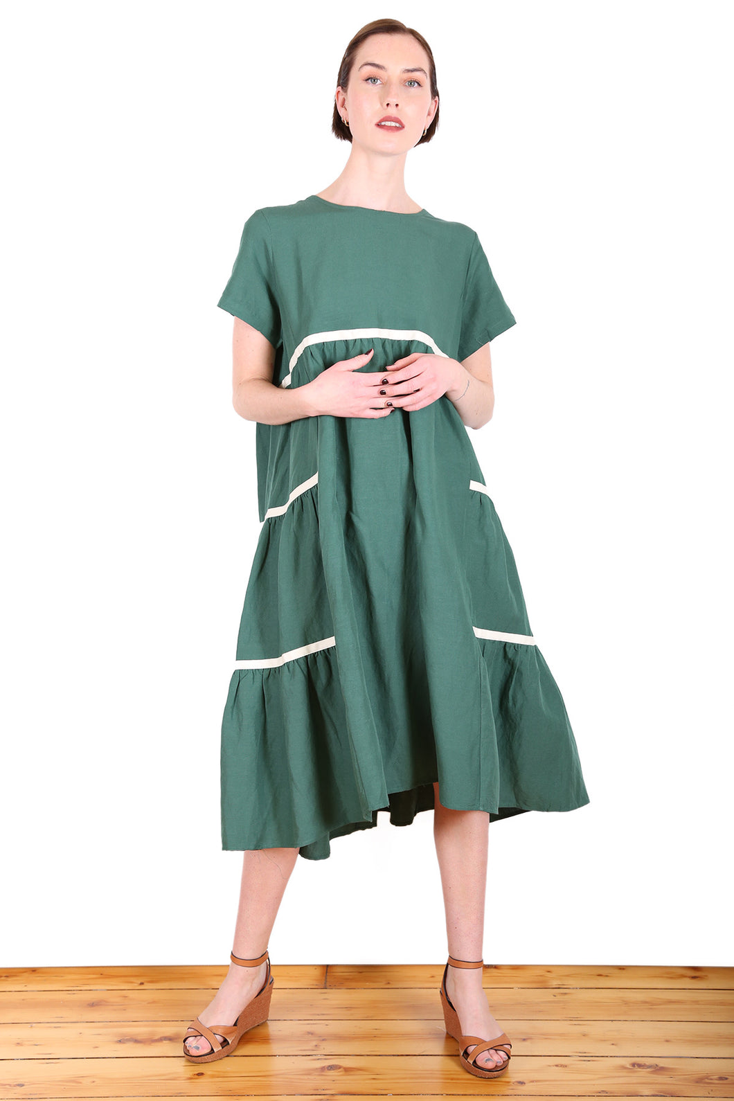 Fremantle Dress - Green
