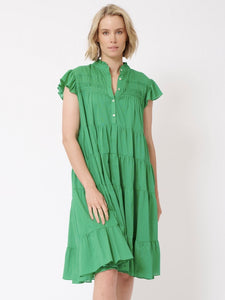 Gisele Dress - Emerald