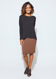 Stella Slouch Tee Sleeved - Black