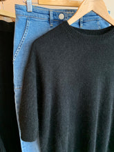 Load image into Gallery viewer, Genus Knit Tee - Black