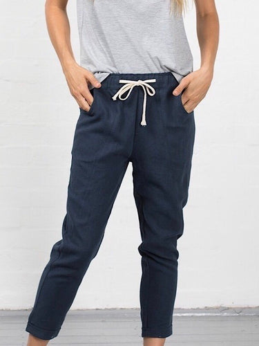Luxe Pants - Navy
