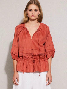 Voyage Top - Clay