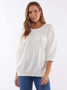 Elsie Knit- White