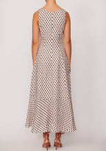 Load image into Gallery viewer, Straws Midi Dress - Straws Print