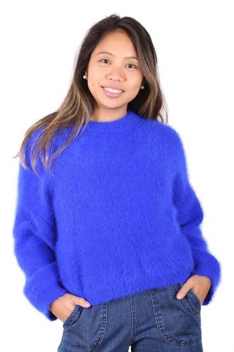 Montreal Sweater - Neon Blue