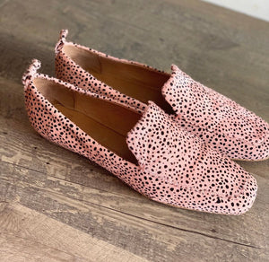 Chasey Loafer - Nude Speckle Pony
