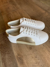 Load image into Gallery viewer, Thee Sneaker - Bianco / Platino - White / Gold