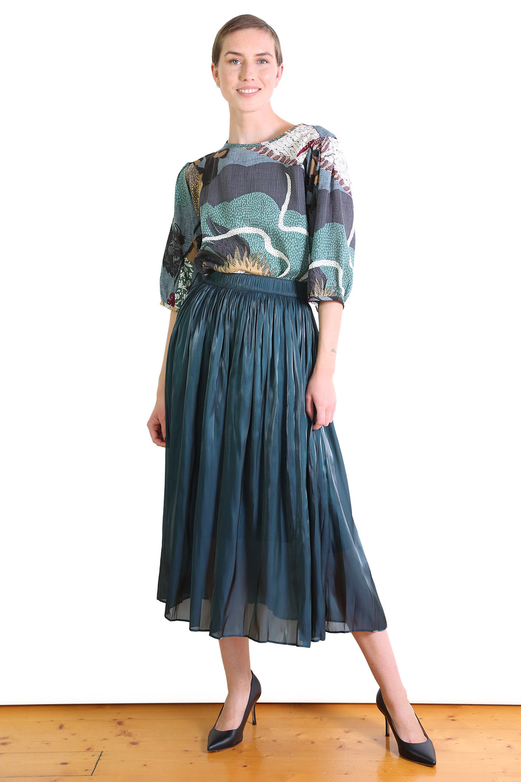 Lake Como Skirt - Seaweed