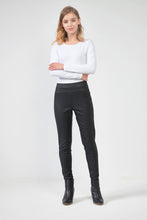 Load image into Gallery viewer, Coated Pants - Black