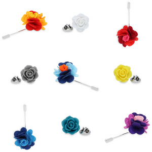 Going to attend a special occasion? Be the best dressed! Just add a stylish Duncan Walton lapel pin. Choose from this season's hottest colours and designs.