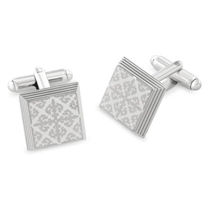 Braxton Baroque Metal Cufflinks