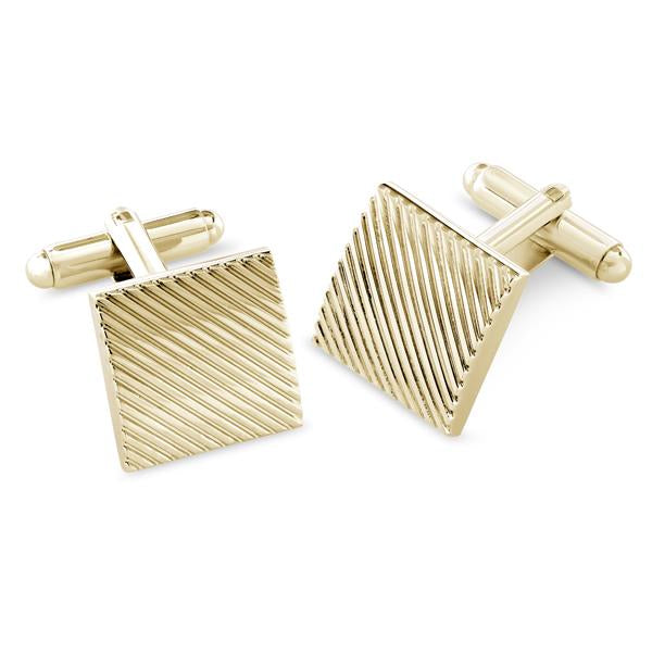 Canton Gold | Metal Cufflinks