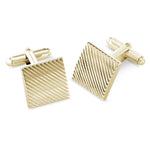 Canton Gold Metal Cufflinks