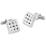 Friston Mono | Swarovski® Crystals Cufflinks